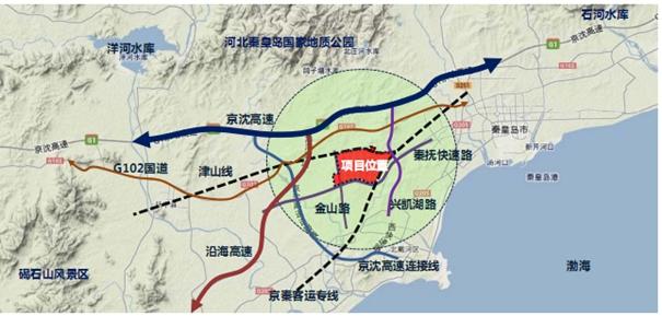 秦皇岛经济技术开发区规划图
